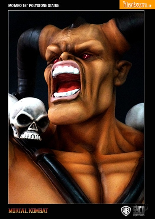 Syco Collectibles: Mortal Kombat: Motaro Polystone Statue - In preordine