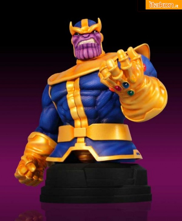 SDCC 2012: Exclusive Thanos e Blade Reaper Mini-Bust da Gentle Giant