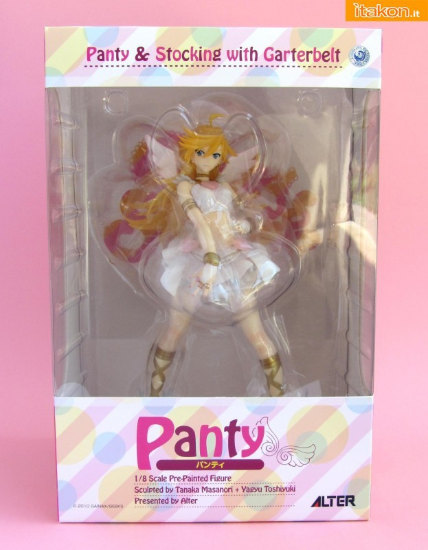 Anarchy Panty & Stocking with Garterbelt Alter recensione review