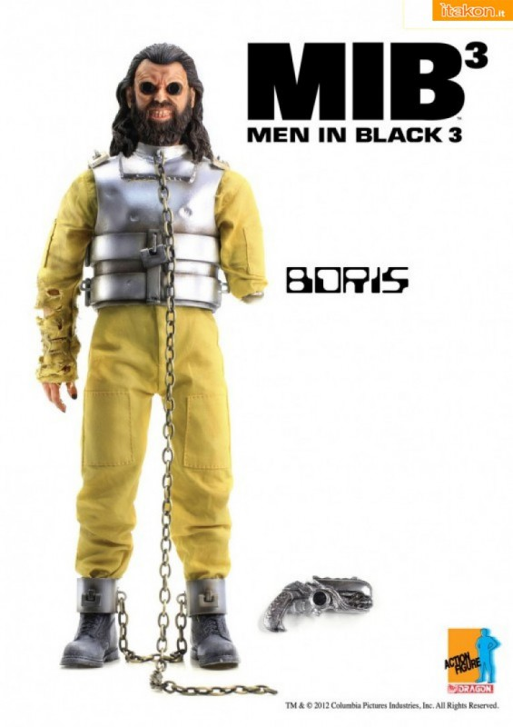 Dragon Models: MIB - Men In Black 3 - Boris 1/6 scale