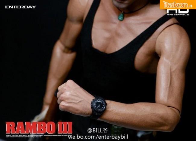 Enterbay: HD MASTERPIECE - Rambo III 1/4 - Le prime immagini ufficiali
