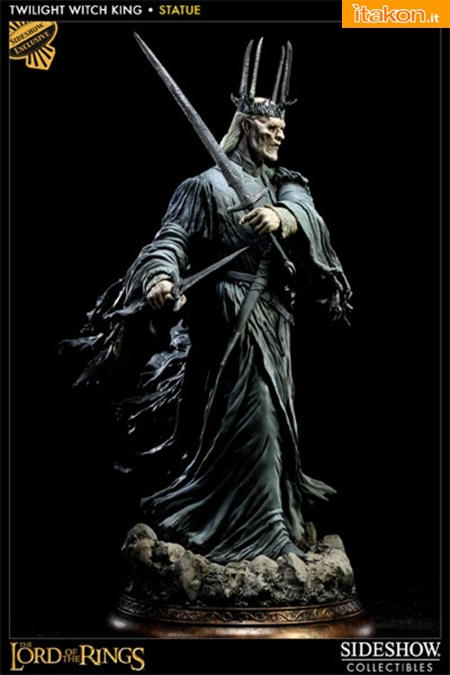 Sideshow: LOTR: Twilight Witch King - Polystone Statue - In Preordine