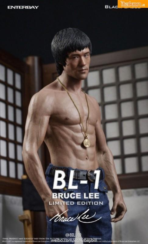 Enterbay: Bruce Lee Black Label 1:6 Scale Premium Statue - Immagini Ufficiali