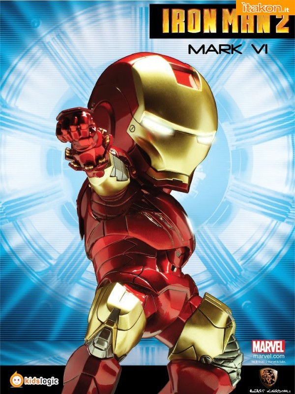 Kids Logic & Beast Kingdom: SD Iron Man 2 The Movie - Anteprima