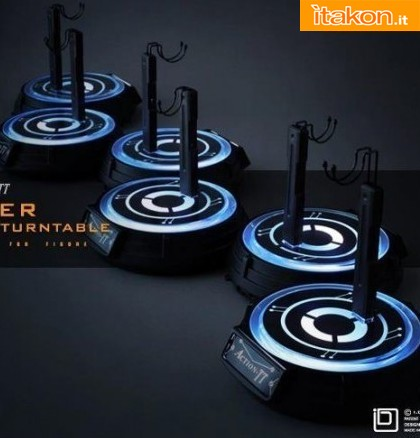 Hot Toys: Action-TT Power Illuminated Turntable Figure Stand