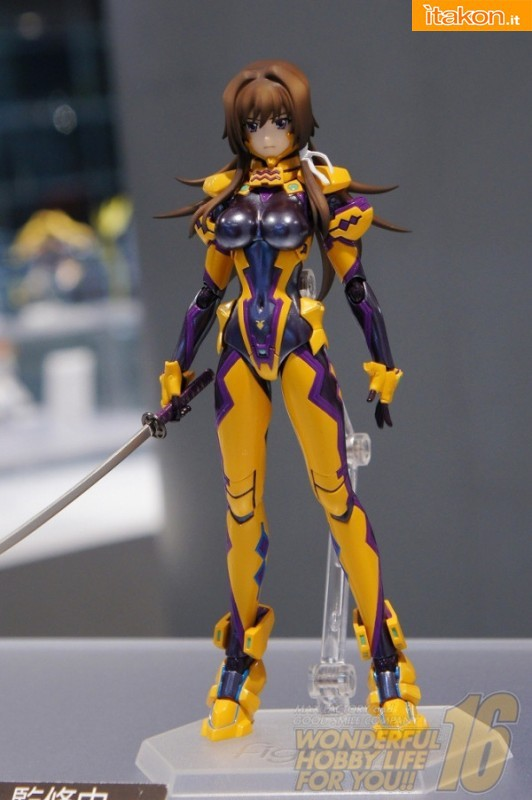 Muv-Luv Alternative Total Eclipse - Takamura Yui - Figma (Max Factory)