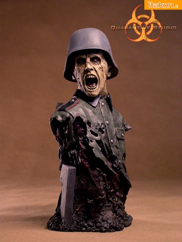 Quarantine Studio: The DEAD Reich: Herr Burkhart Zombi 1/4 - In preordine