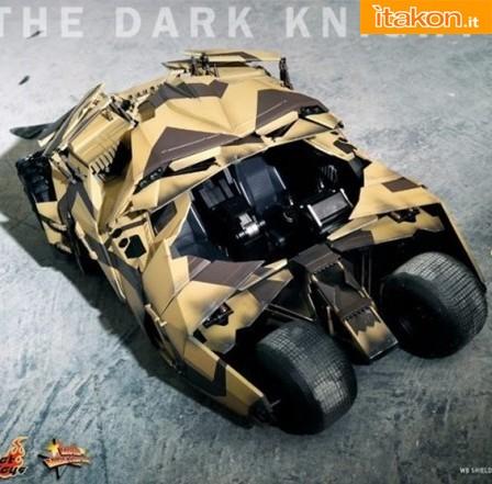 Hot Toys: The Dark Knight Rises: Tumbler (Camouflage Version) - Immagini Ufficiali