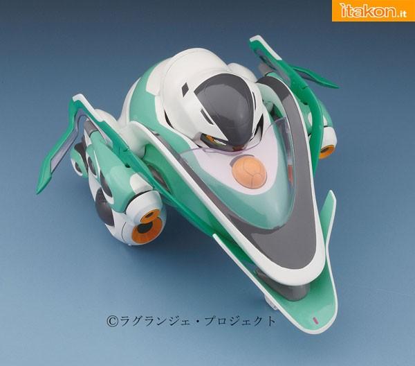 Rinne no Lagrange model kit vox aura egg plane hasegawa