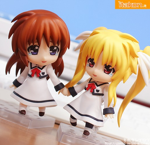 Mahou Shoujo Lyrical Nanoha The Movie 2nd A's nendoroid nanoha fate