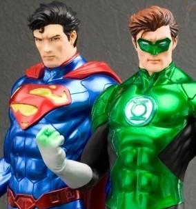 justice league new 52 dc jim lee green lanter lanterna verde superman
