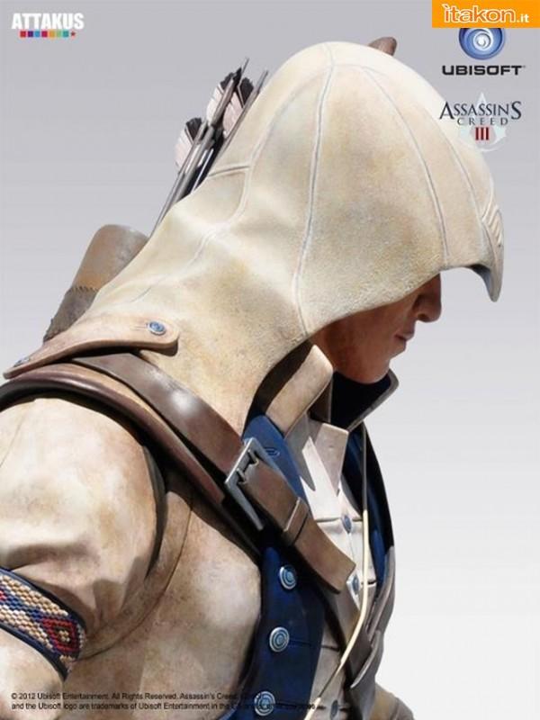 Attakus: Da Assassin's Creed III in arrivo la statua di Connor alta 2 metri