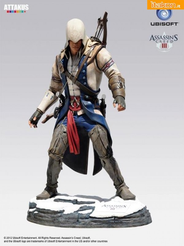 Attakus: Da Assassin's Creed III in arrivo la statua di Connor alta 2 metri