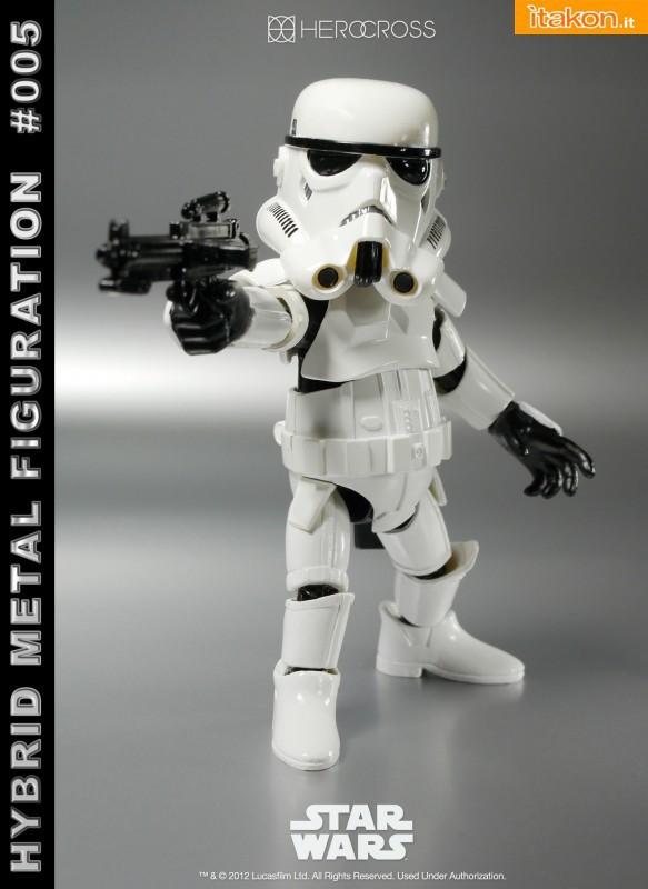 HEROCROSS: Hybrid Metal Figuration #005: Star Wars - Stormtrooper