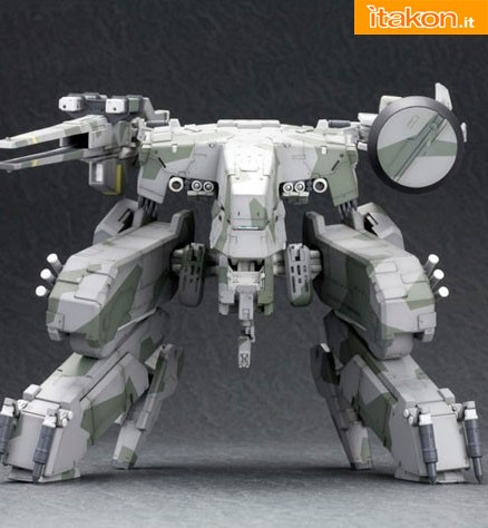 Kotobukiya: Metal Gear Solid 1/100 Metal Gear REX Plastic Kit