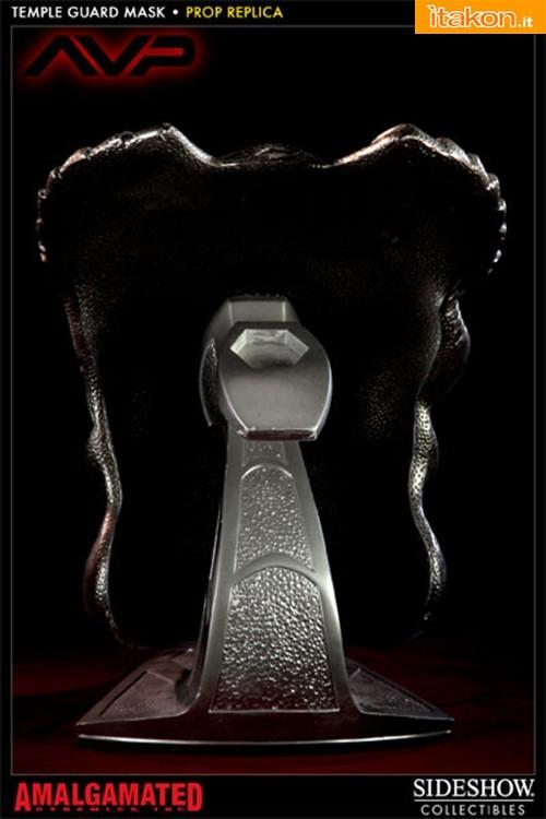 Sideshow: AVP: Temple Guard Mask Prop Replica - Immagini Ufficiali e Info Preordini