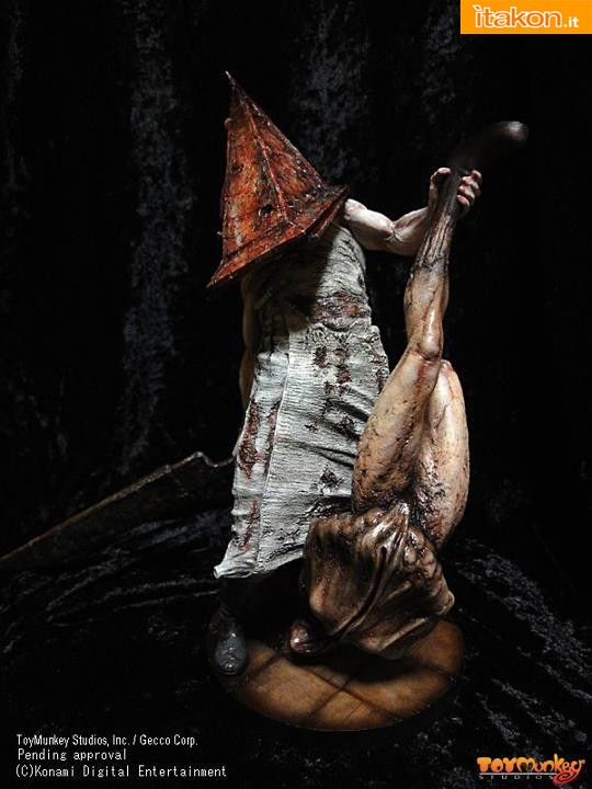 Toymunkey Studios: Silent Hill 2 - Red Pyramid Thing 1/6