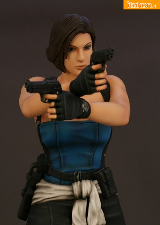 Hollywood Collectibles: RESIDENT EVIL: JILL VALENTINE STATUE 1/6