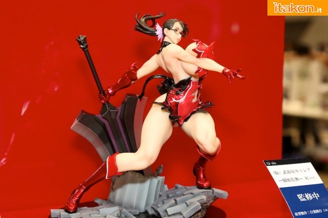 Queen's Blade - Cattleya - 1/6 - Red ver. (Q-six)