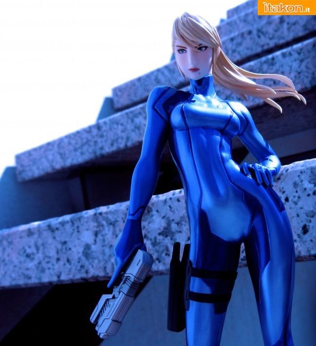 "Samus Aran 1/8 di Max Factory da ""Metroid: Other M"""
