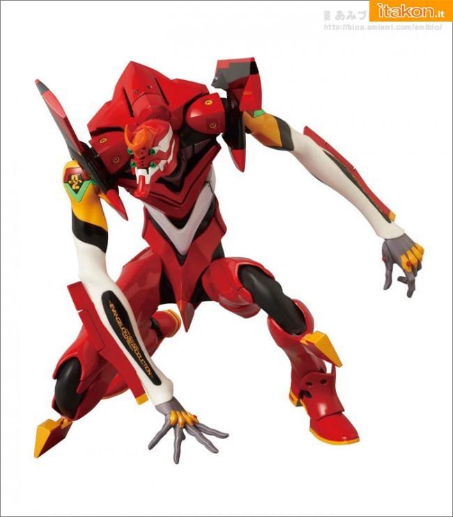 RAH: NEO Evangelion Unit 02 da Medicom Toy - Anteprima