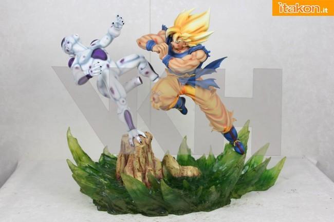 SS Goku vs Freeza final form diorama - Da VKH Figure