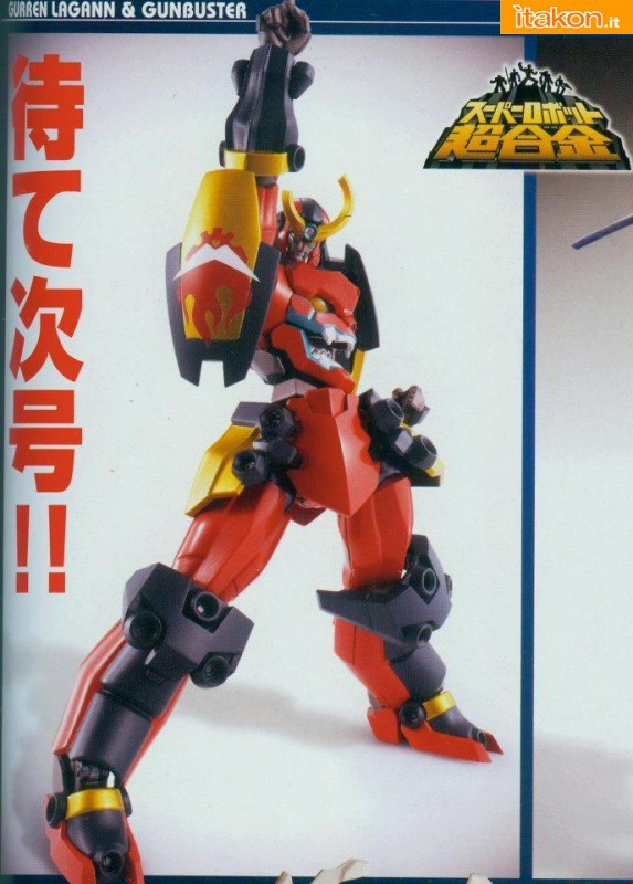 In arrivo i Super Robot Chogokin Gurren Lagann e Gunbuster da Bandai - Anteprima