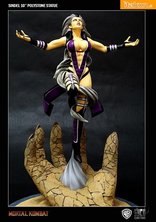 Queen Sindel 10'' Polystone Statue da Syco Collectibles - In Preordine