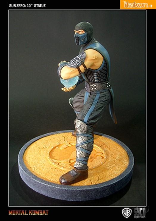 Sub Zero 10'' Statue da Syco Collectibles
