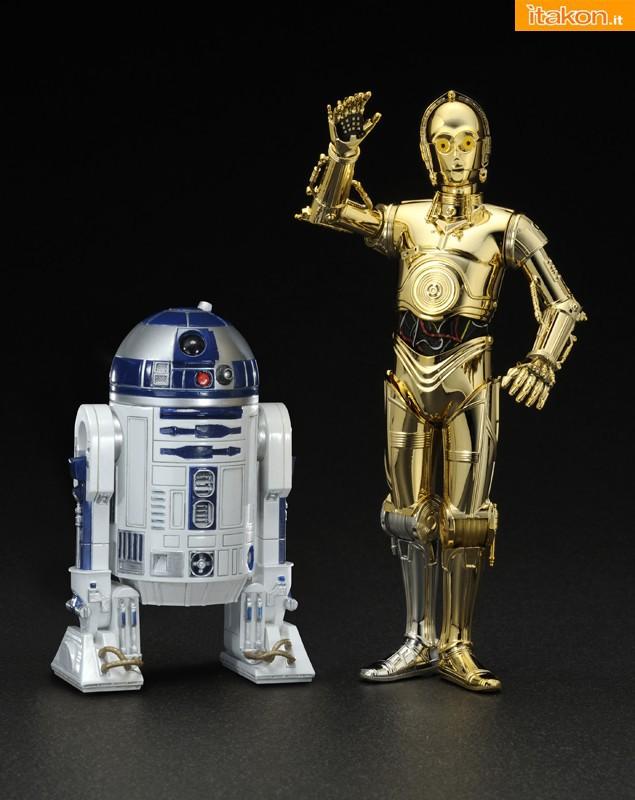 R2-D2 e C-3PO ARTFX+ in Ristampa e Sandtrooper in arrivo da Kotobukiya