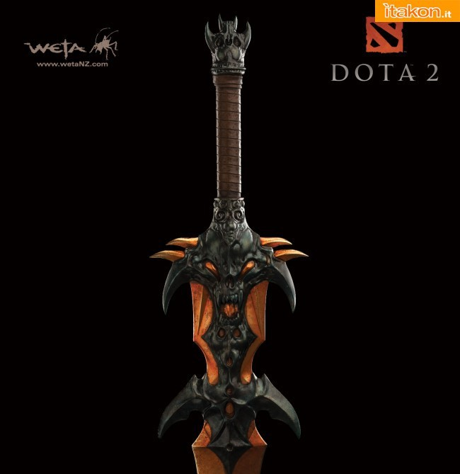 WETA Collectibles: Dalla serie Dota 2 in arrivo Statue e Prop Replica