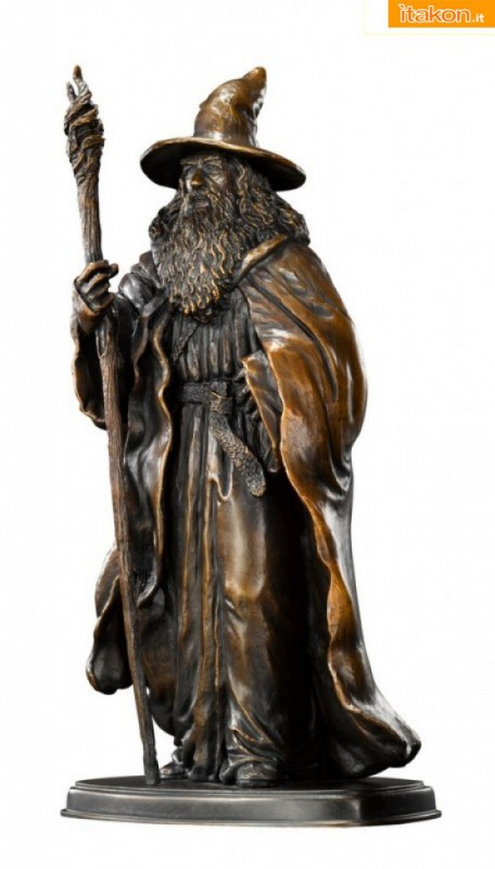 The Noble Collection: In arrivo le sculture in bronzo di Gandalf, Bilbo Baggins e Thorin