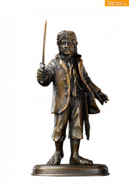 The Noble Collection: In arrivo le sculture in bronzo di Gandalf, Bilbo Baggins e Thorin