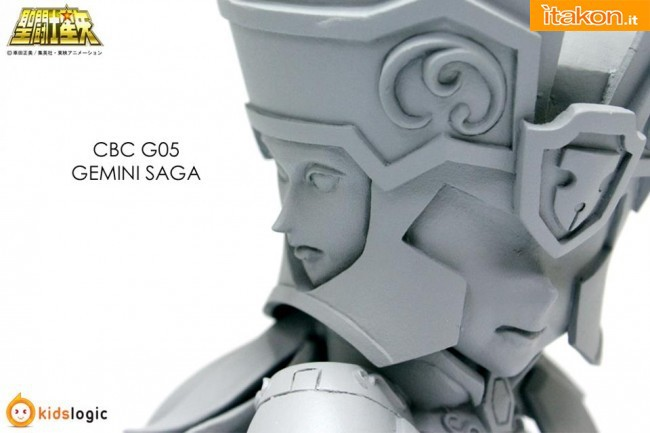 Anteprima Burning Collection G05 Gemini Saga da Kids Logic