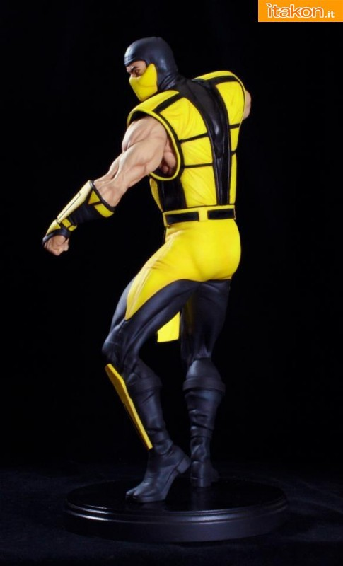Mortal Kombat: Scorpion 1:4 scale statue da Pop Culture Shock - Immagini Ufficiali