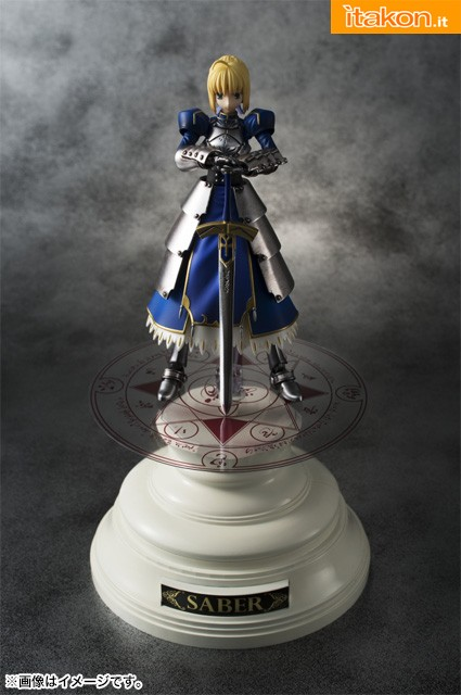 Fate/Zero - Saber - Chogokin