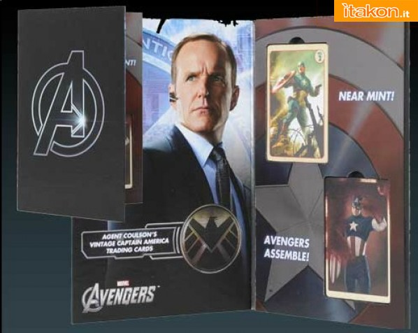 EFX Collectibles: Agent Coulson'S Vintage Captain America Trading Cards