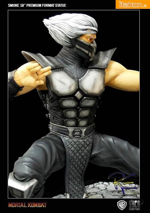 Mortal Kombat: Smoke statue da Syco Collectibles - Immagini Ufficiali