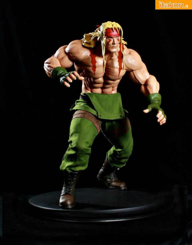 Street Fighter: ALEX 1/4 statue da Pop Culture Shock - Anteprima