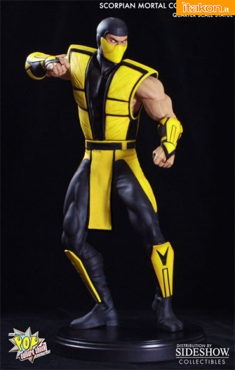 Ultimate Mortal Kombat 3: Scorpion 1/4 da Pop Culture - In Preordine