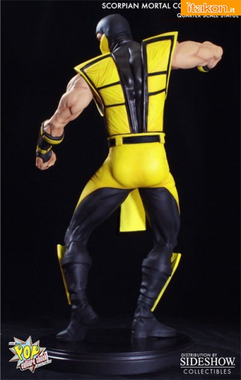\Ultimate Mortal Kombat 3: Scorpion 1/4 da Pop Culture - In Preordine