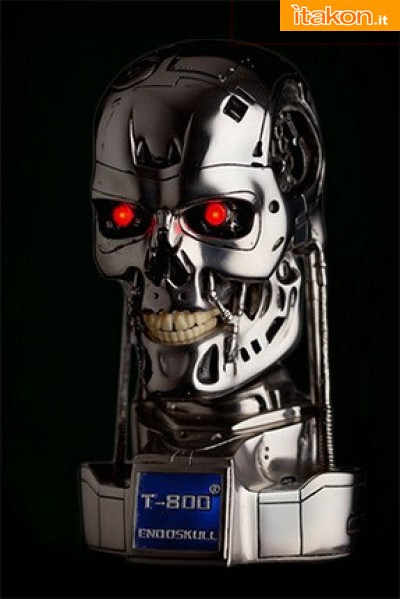 T-800 1:2 Endoskull da Hollywood Collectibles - Di nuovo disponibile