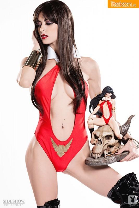 Leeanna Vamp e Sideshow Collectibles insieme per la piu' sexy Vampirella di sempre