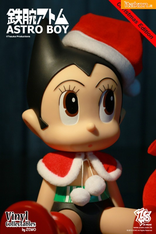 Astro Boy Vinyl Christmas Edition da ZC World - Anteprima