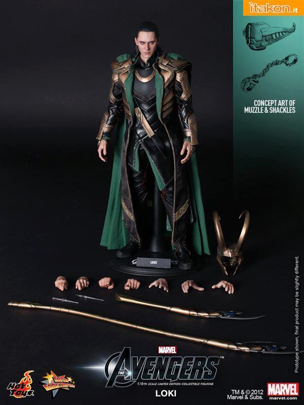 MMS176: The Avengers - Loki 1/6