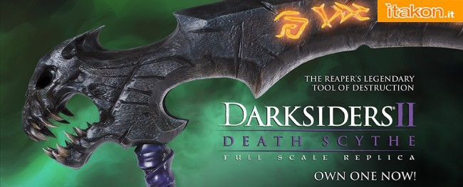 Darksiders II: Death Scythe Full Scale Replica da Project Triforce - In Preordine