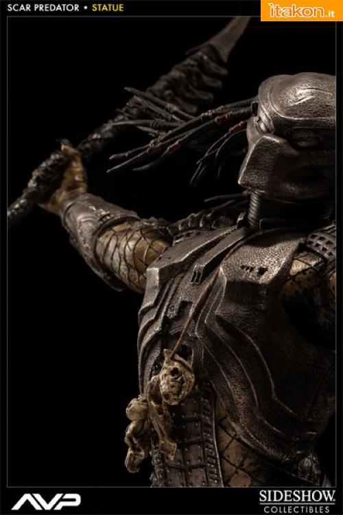 AVP: Scar Predator Statue da Sideshow - Immagini Ufficiali e Info Preordini