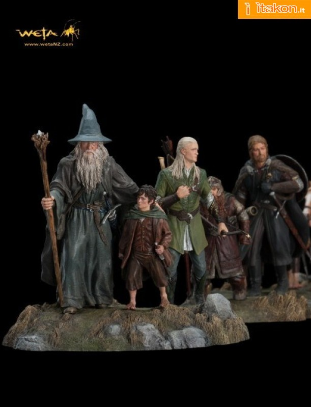 The Fellowship of the Ring Secondo Set da Weta Collectibles - In Preordine