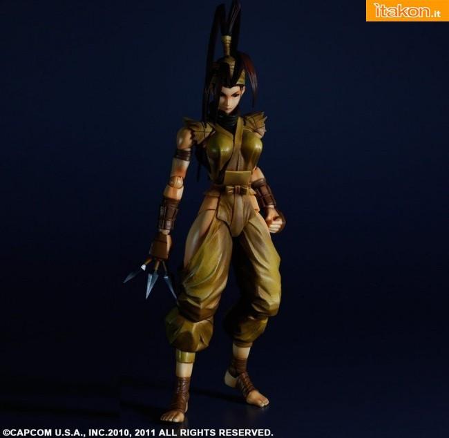 Play Arts Kai: Guile e Ibuki da Super Street Fighter IV - In Preordine