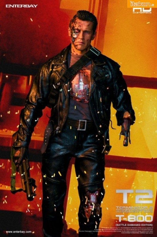 Enterbay: HD-1013 Terminator 2: T-800 Battle Damaged Edition